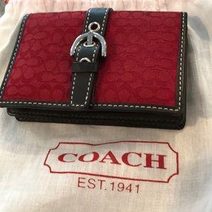 NWOT Coach ID Holder/Change Purse